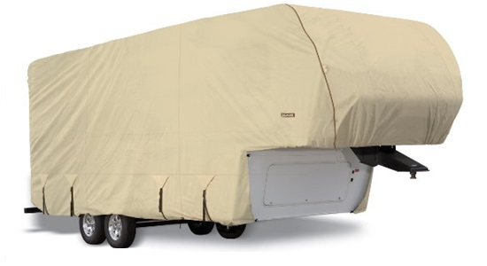 Eevelle Goldline Fifth Wheel Cover Tan