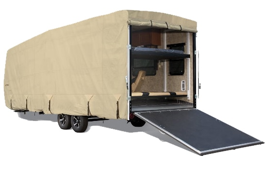 Eevelle Goldline Toy Hauler Cover Tan