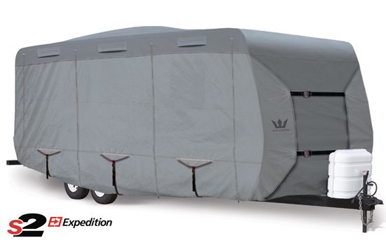 Travel Trailer Cover Fits 29' Long Travel Trailer | S2 Expedition RV on