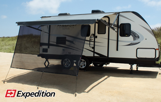 RV Awning Sun Shade