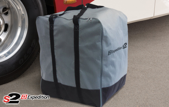 Convenient storage bag is provided for easy carrying and storage.