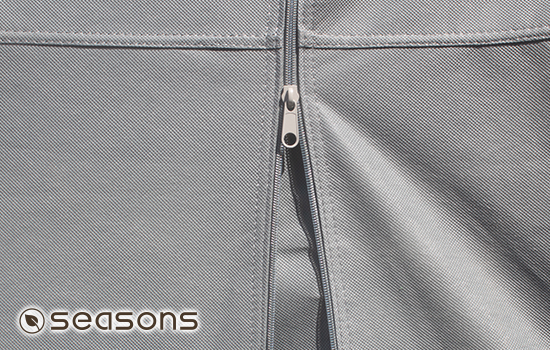 Heavy duty zippers made to last, perform great in any weather condition