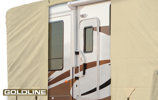 Goldline Camper Trailer Cover 2 Ready