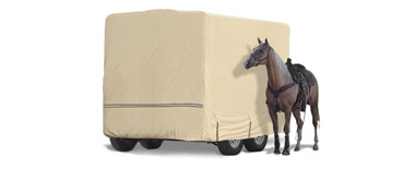 RV Covers for Horse Trailers