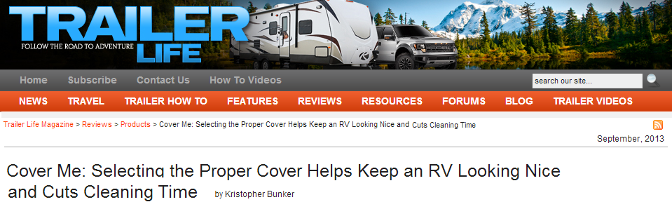 Trailer Life RV Cover Review