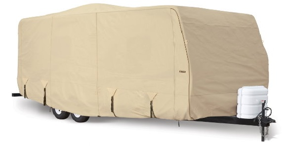Eevelle Goldline Travel Trailer Cover Tan